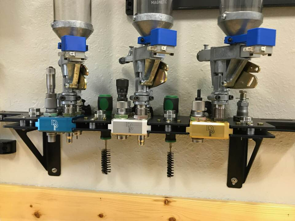 RL 550 Pro Toolhead Racks with locations to hold conversion kits  Available  in 3 and 5 place